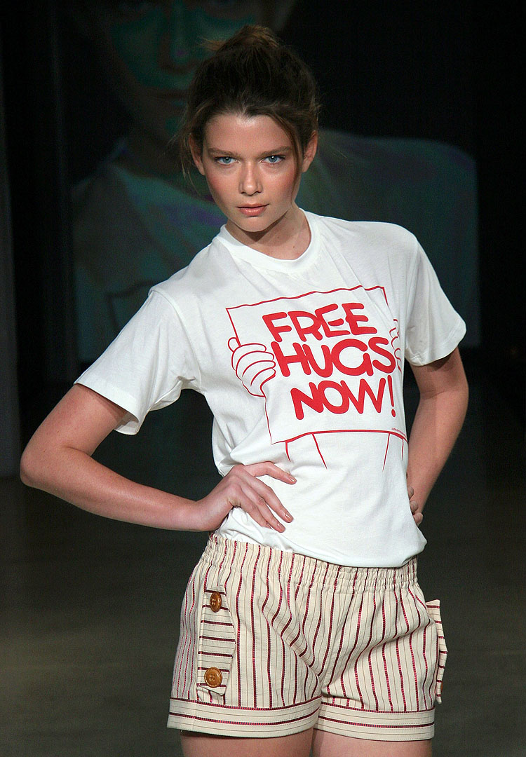 SYDNEY, NSW - APRIL 27:  A model walks the catwalk during the Lover Collection show at Mercedes Australian Fashion Week April 27, 2006 in Sydney, Australia.  (Photo by Stephane L'hostis/Getty Images)