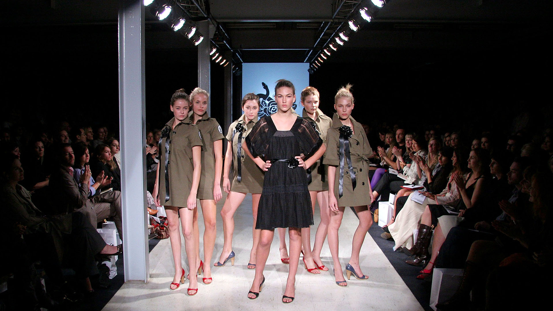 SYDNEY, NSW - APRIL 27:  Models walks the catwalk during the Lover Collection show at Mercedes Australian Fashion Week April 27, 2006 in Sydney, Australia.  (Photo by Stephane L'hostis/Getty Images)