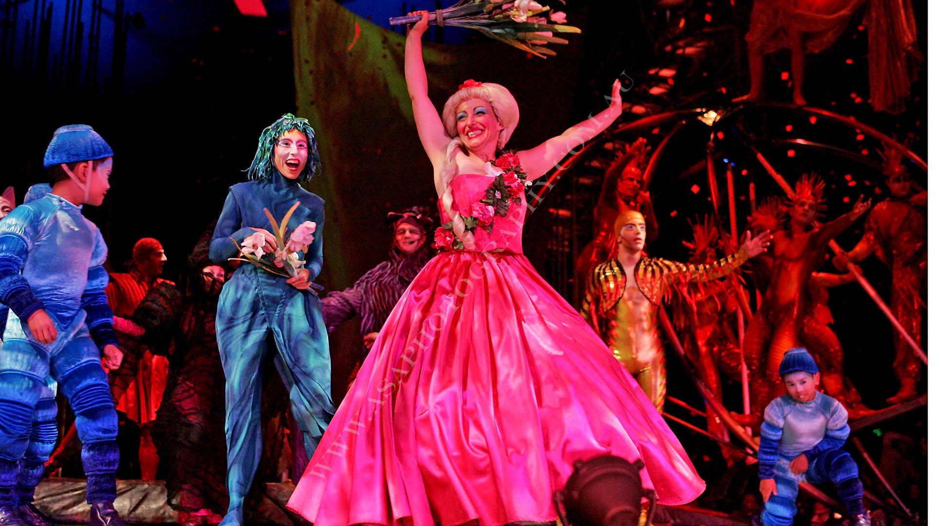 Dress Rehearsal For Cirque Du Soleils Varekai